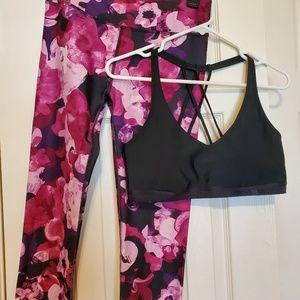 Fabletics & Under Armor Workout Outfit